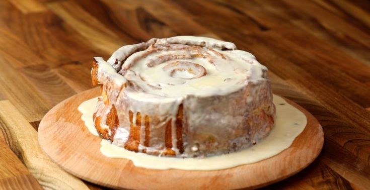 A giant French toast cinnamon roll is the perfect centrepiece for family brunch. Satisfy the sweet-tooths at the table with this show stopper. Easy to make and takes like cinnamon buns!!