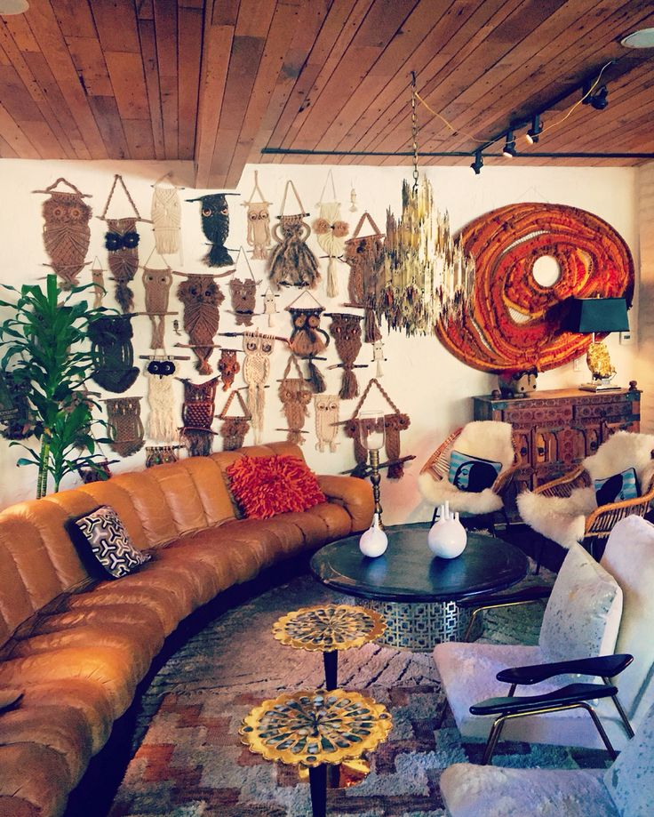 Living Room At The Parker Palm Springs Interior Design By