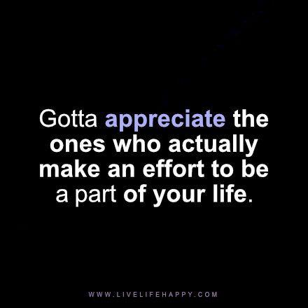 gotta appreciate the ones who                                                                                                                                                                                 More