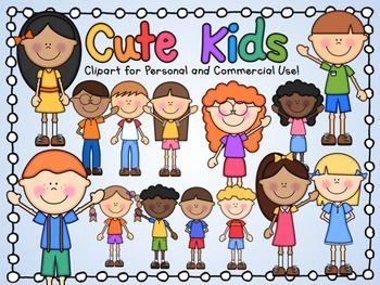Cute Kids Clipart