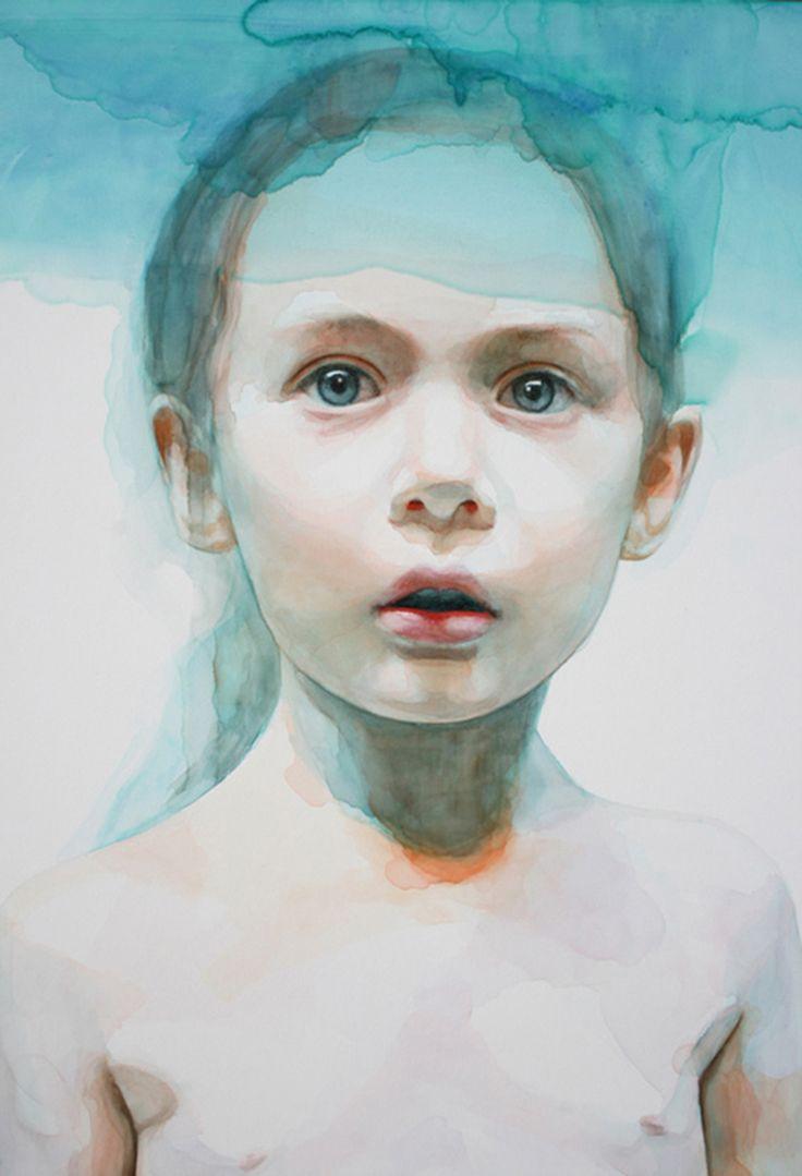 Underwater Watercolor Painting By Ali Cavanaugh 10