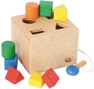 Formenbox / Sortierbox mit Schlüssel