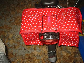 Mila´s Traumwerkstatt: Satteltasche fürs Kinderrad