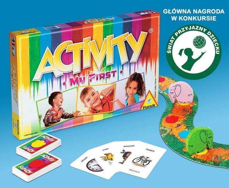 Piatnik My first activity - Gra dla małych dzieci - Satysfakcja.pl