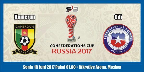 Prediksi Bola Kamerun vs Cili 19 Juni 2017