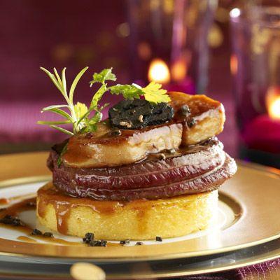 Tournedos de biche au foie gras et à la truffe