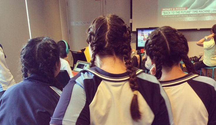 Youth Space is the perfect place to chill out, snack on yummy food, play awesome games... and get your hair braided. Styling credits go to the wonderful Simona