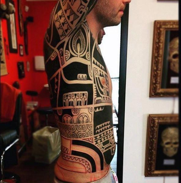 marquesan Tattoos und #Marquesant Tattoos