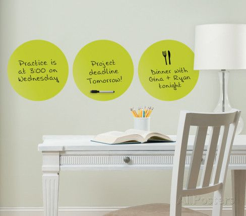 Samara 3 Dots Dry Erase Wall Decal Sticker Part 74