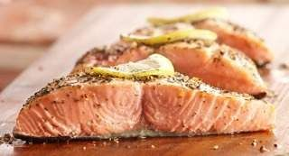 Montreal Salmon Rub: A rub of Grill Mates® Montreal Steak Seasoning, lemon peel and dill weed provides delicious flavor for salmon on the grill.