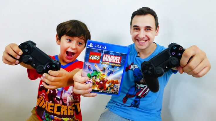 Видео игры на PS4 (PlayStation) от ЛЕГО МАРВЕЛ, Папы Роба и Ярика! LEGO ...