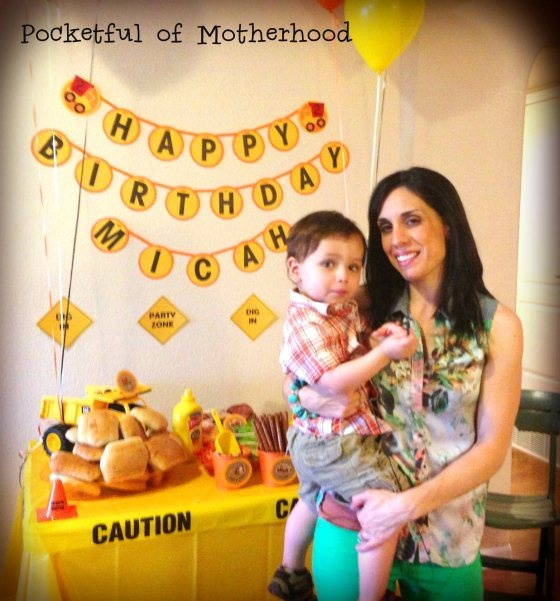 Hannah's construction themed party for Micah - well done!