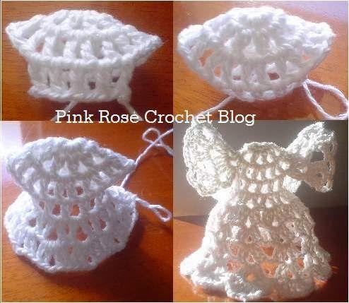 PINK ROSE CROCHET: Resultados da pesquisa anjo de natal