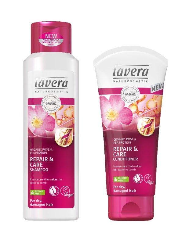 lavera 100 natuurlijke haarverzorging droog en beschadigd