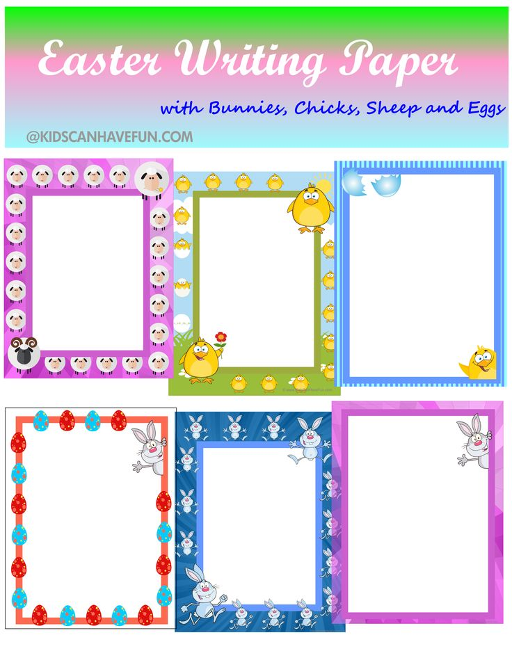 59 best Printable Writing Paper images on Pinterest Article - printable writing paper with border