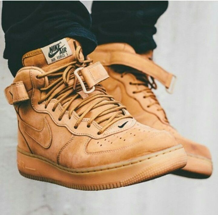 NIKE AIR FORCE ONE BROWN SUEDE on The Hunt