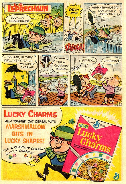 General Mills Lucky Charms 1964