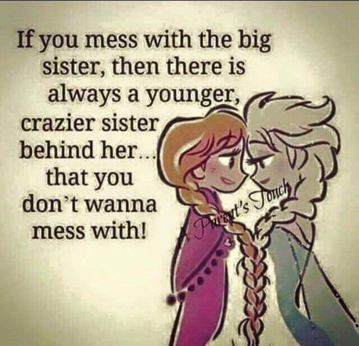 I am that sister!