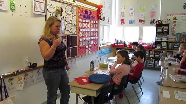 A teacher shows how she conducts daily multiplication drills in her classroom. The whole process takes just 5-10 minutes a day and results in times table mastery! Pin now, watch later