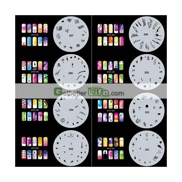 Pro Airbrush Nail Art Paint Stencil Kit Design Set MJ-001 nails designs,nail airbrush designs,nail art designs,nail airbrush design [MJ-001]US$18.26 : getbetterlife.com