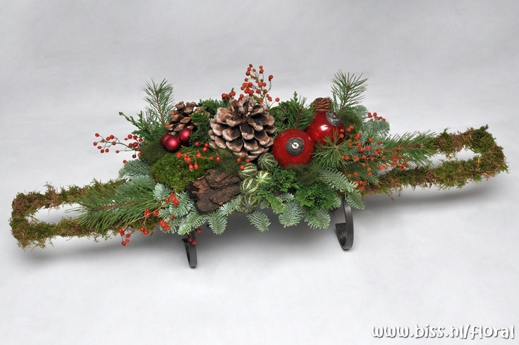 79 Best Images About Bloemschikken Kerst On Pinterest