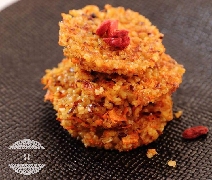 Des galettes de boulgour au potimarron, pour accompagner tous vos plats :) => http://ow.ly/S7EA308l4Sm