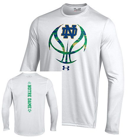 Under Armour Notre Dame Fighting Irish Hoops Basketball Tech Long Sleeve T-Shirt | University Of Notre Dame