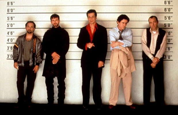 The Usual Suspects -- Great freakin' movie!!  I just watched it tonight for the first time in a while and it's still just as good as when I saw it in the theater.