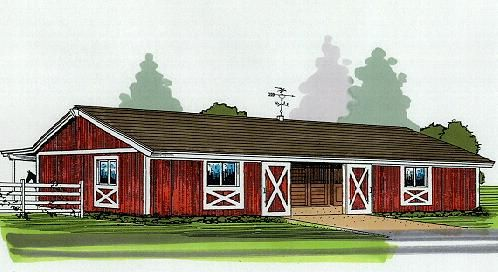33 best images about horse barn designs on pinterest for 4 stall barn designs