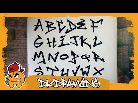 cool Graffiti Tag Alphabet - Handstyle Tagging #2