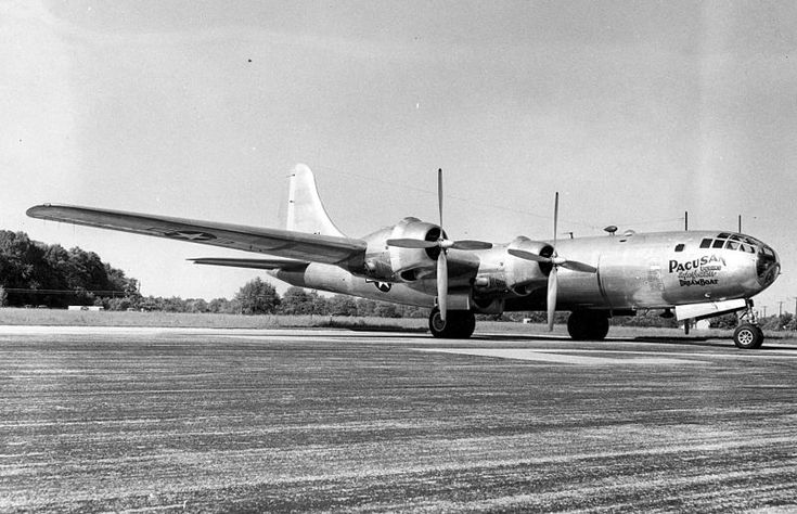 Boeing B-29B Superfortress de l'USAAF au sol