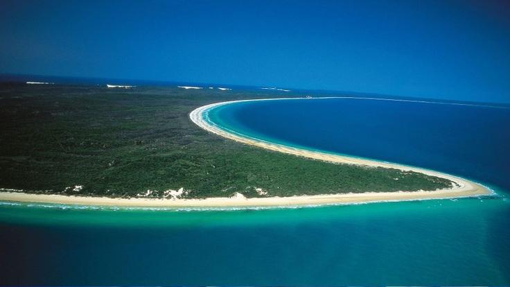 Frazer Island, world's largest Sand Island, off the Frazer Coast Australia