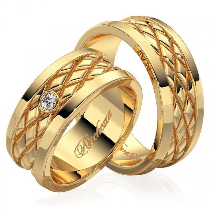 Для создания рисунков на наших кольцах мы используем современную технологию фрезеровки. А чтобы рисунок был четко виден нижнюю часть рисунка мы делаем матовой. Такое контрастное сочетание делает рисунок или орнамент очень ярким и насыщенным. Обручальные кольца с бриллиантами - это ,безусловно, уже традиция. Кольца украшают самым прочным в мире драгоценным камнем, символом бесконечной надежности, вечности и