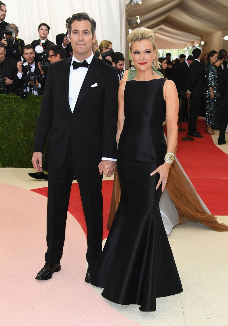 NEW YORK, NY - MAY 02:  Douglas Brunt (L) and Megyn Kelly attend the 'Manus x Machina: Fashion In An Age Of Technology' Costume Institute Gala at Metropolitan Museum of Art on May 2, 2016 in New York City.  (Photo by Larry Busacca/Getty Images) via @AOL_Lifestyle Read more: https://www.aol.com/article/entertainment/2017/12/08/megyn-kellys-most-controversial-moments-of-2017/23303594/?a_dgi=aolshare_pinterest#fullscreen