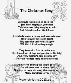 39 best Christmas Songs ~ Lyrics images on Pinterest | Song lyrics ...