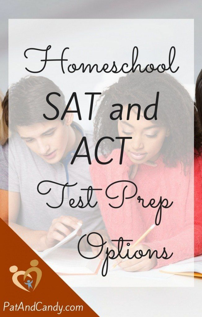 Homeschool SAT and ACT Test Prep Options