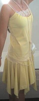How to Make a Roaring 20's Yellow Flapper Dress!! (Tutorial fixed!!!) - CLOTHING