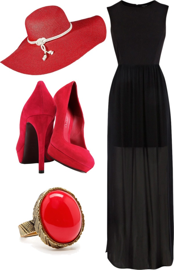 """Derby Outfit 2"" by chelsalay-agee on Polyvore"