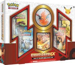 Pokemon Red and Blue Collection Charizard Ex Box Trading Card Game