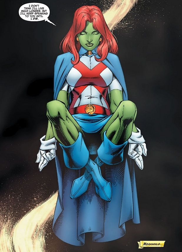 35 best Miss Martian images on Pinterest   Miss martian, Young ...