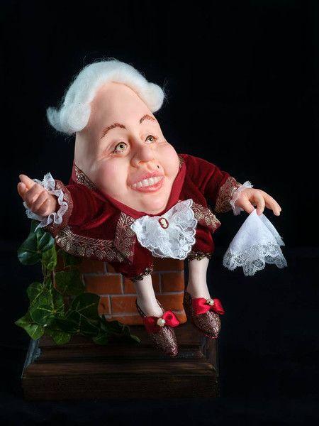 Dolls – Humpty Dumpty - art doll – a unique product by Elena-harf4g on DaWanda