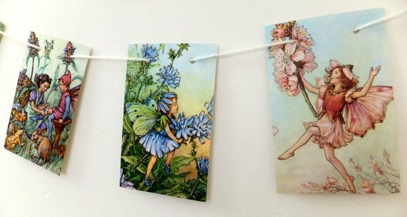 Flower Fairies Garland Cicely Mary Barker by PeonyandThistle