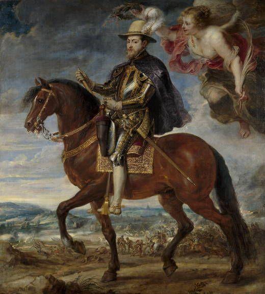Pedro Pablo Rubens. Felipe II, 1630
