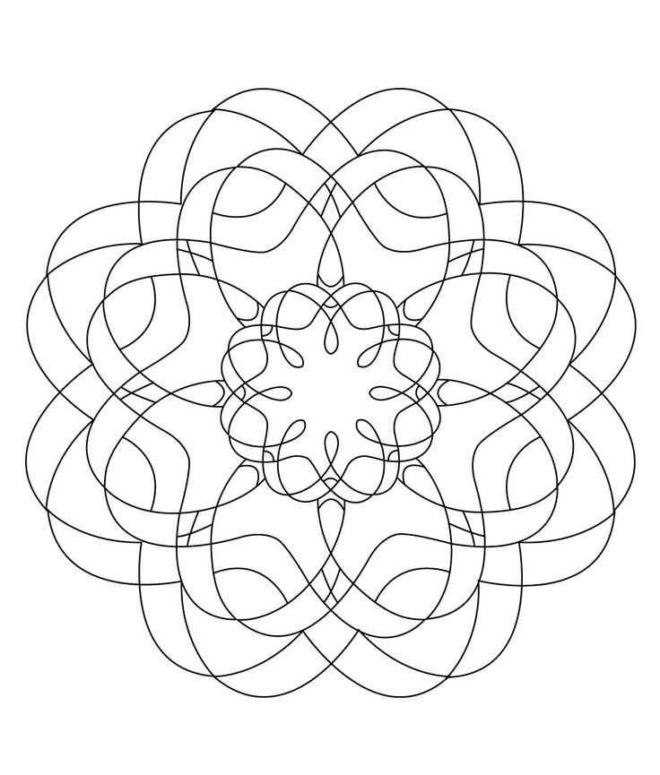 104 best images about mandalas on pinterest coloring mandala coloring pages and mandala coloring - Mandala pour adulte ...