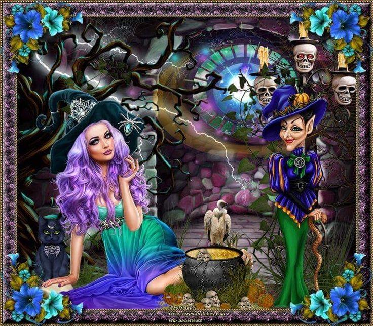 witch by chamooi.deviantart.com on @deviantART | Anime