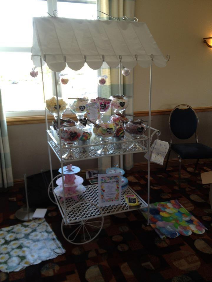Wedding Fair Showcasing, Candy Stands 2012