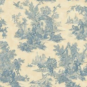 shopping listPowder Room, Wallpapers Company, Toile, Classic Toile, Bedrooms Wallpapers, Toile Wallpapers, Large Scales, Cream Large, Bathroom Wallpapers