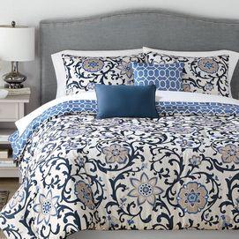 Calista 5 Piece Comforter Set Sears Home