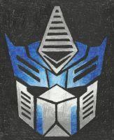 Autobot insignia - Optimus (TFP) by LadyIronhide