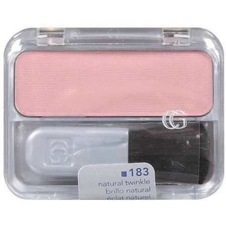 Covergirl Cheekers Blendable Powder Blush, Natural Twinkle 183, .12 oz, Beige